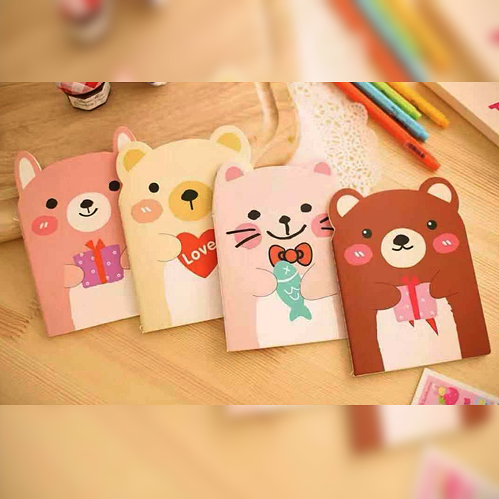 NP 001 - Cute Animal Notepad
