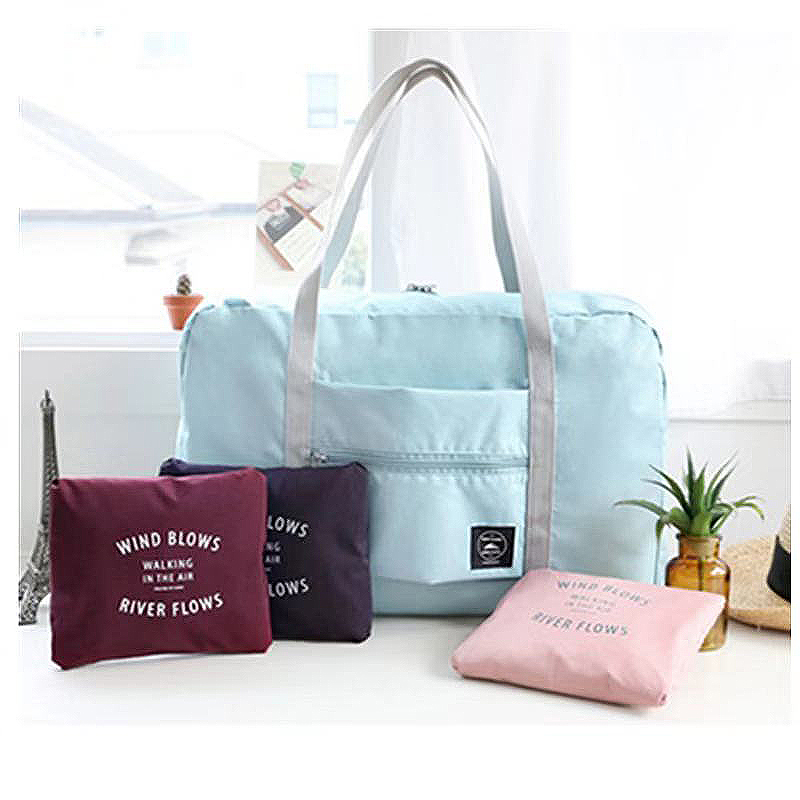 Foldable Travel & Shopping Bag