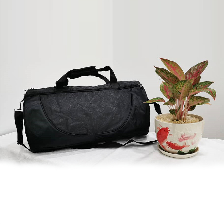 SD 13002 - Cylinder Travelling Bag with Shoe Compartment